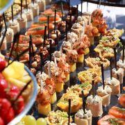 servizio di catering buffet pasti a domicilio