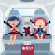 sicurezza in auto dei bambini